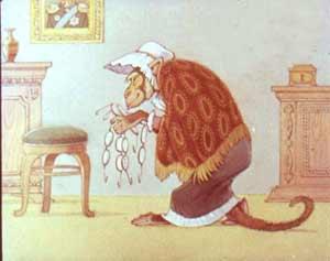 Картинка раскраска мартышка и очки